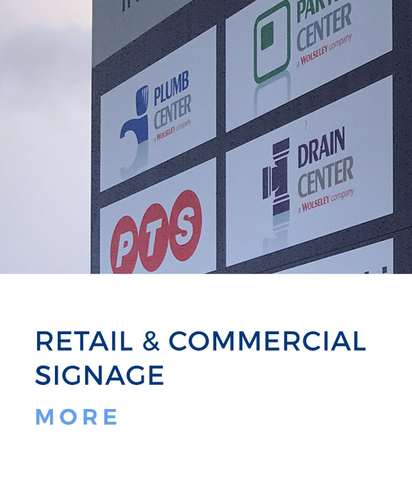 retail and commercial signage